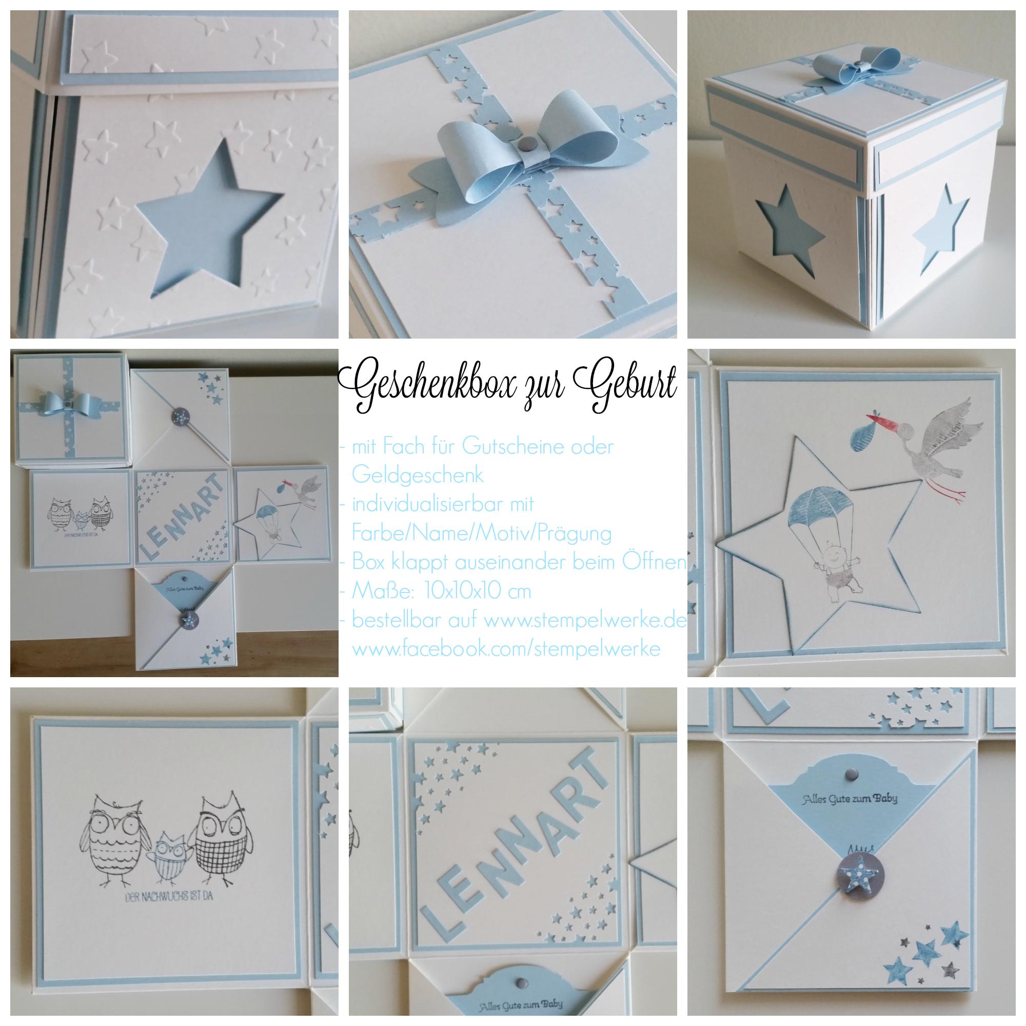Geschenkbox zur Geburt